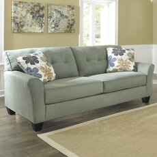 Living room furniture wayfair for Ashley sanford chaise