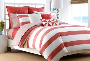 Pattern Play: Bedroom Stripes & Solids