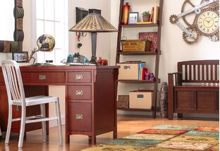 Heirloom-Chic Home Office