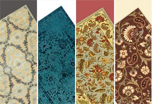Rugs for Every Wall Color