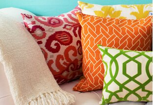 Bright & Colorful Pillows & More