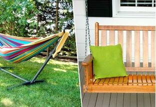 Sway All Day: Hammocks & Porch Swings