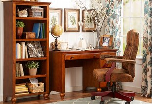 Rustic & Refined Home Office