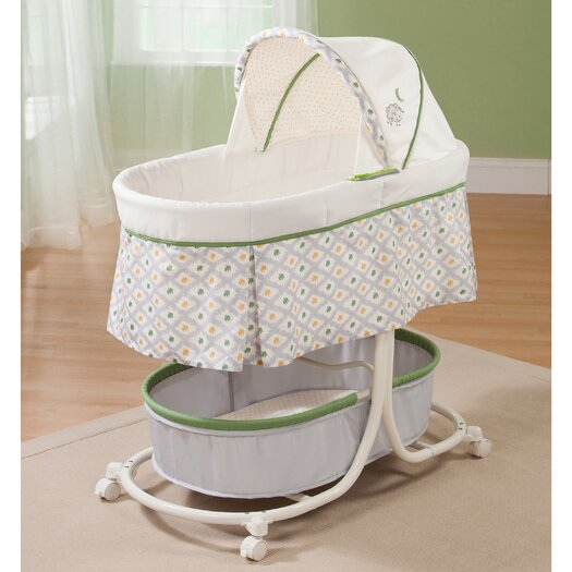 Summer Infant Soothe and Sleep Bassinet with Motion