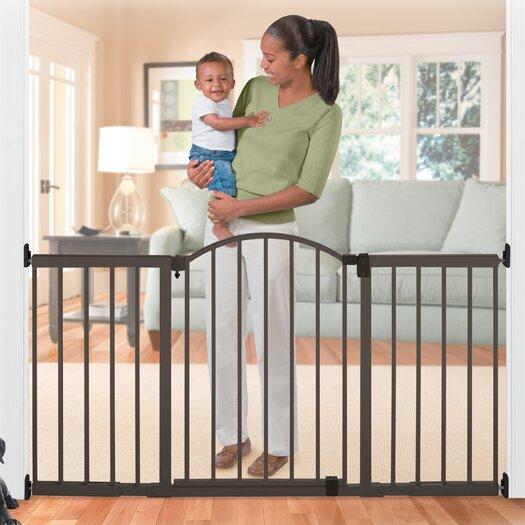 "Summer Infant 72"" Wide Extra Tall Walk-Thru Metal Expansion Gate"