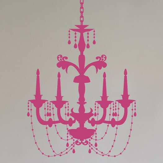 Chic Chandelier Wall Decal