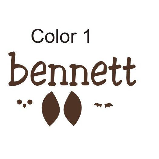 Alphabet Garden Designs Bennett's Owl Wall Decal