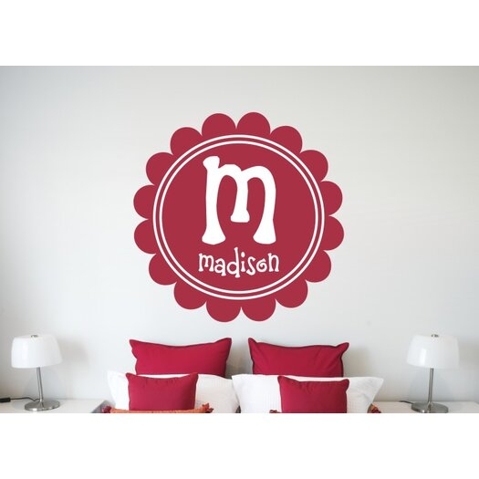 Alphabet Garden Designs Personalized Maria's Wall Decal