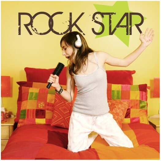 Rock Star Wall Decal