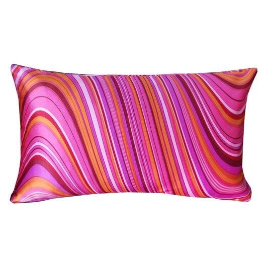 Jiti Psychedelic Silk Decorative Pillow