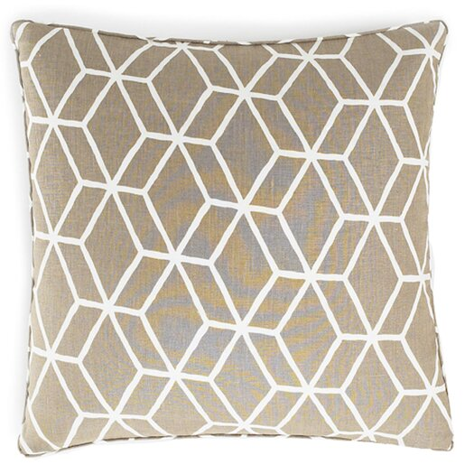 Jiti Bethe Tile Square Linen Pillow