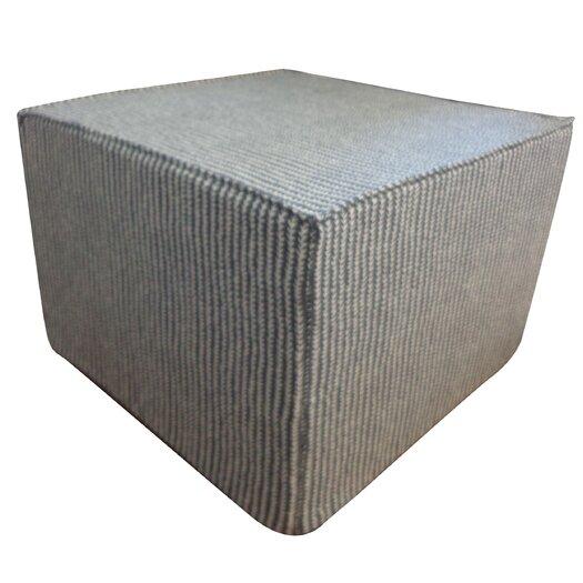 Jiti Stitches Cotton Cube Ottoman