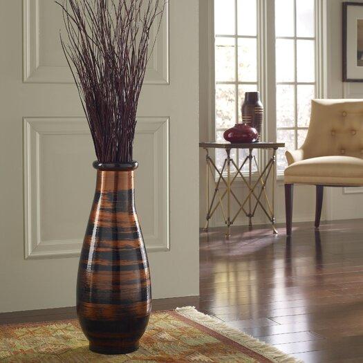 PoliVaz Copperworks Round Floor Vase
