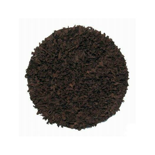 IXI Thalassa Premium Leather Soft Brown Rug