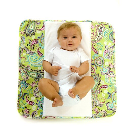 The Plush Pad Memory Foam Changing Pad in Bloom