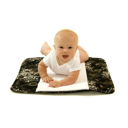 Ah Goo Baby The Plush Pad Memory Foam Changing Pad in Earth