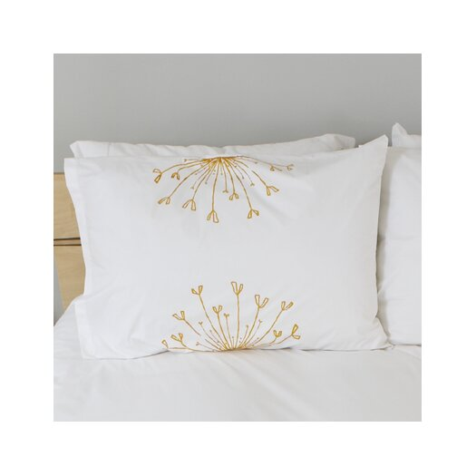 Rosette Standard Pillow Cover