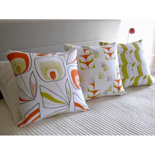 threesheets2thewind Fugi Floral Pillow