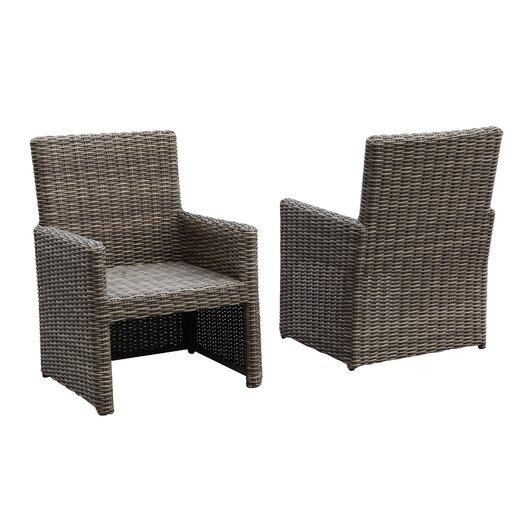 Sunset West Coronado Dining Arm Chair with Cushion