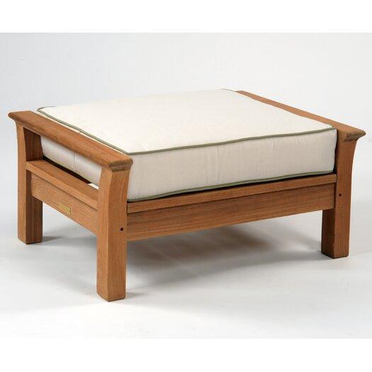 Kingsley Bate Chelsea Ottoman with Cushion