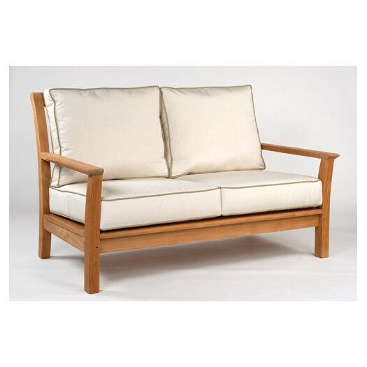Kingsley Bate Chelsea Deep Seating Settee with Cushions