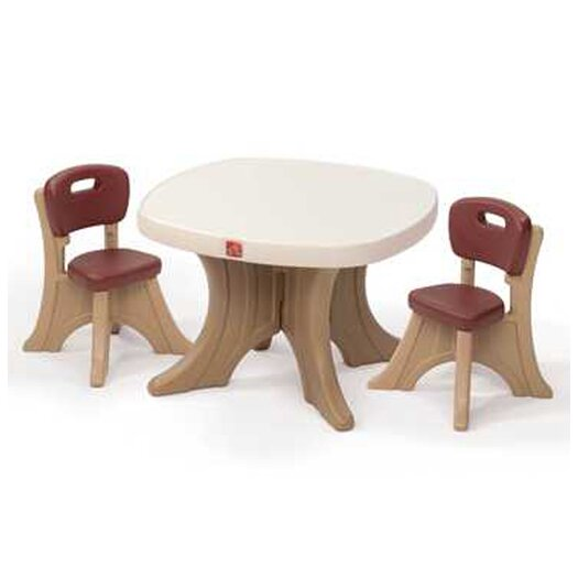 Step2 New Traditions Kid's 3 Piece Table & Chair Set