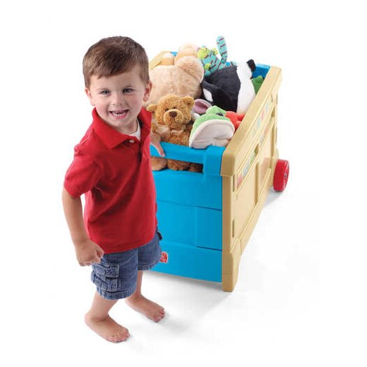 Step2 Lift and Roll Toy Box