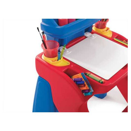 Step2 Write Desk in Red