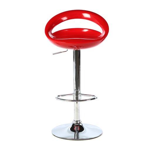 LumiSource Modern Adjustable Height Bar Stool
