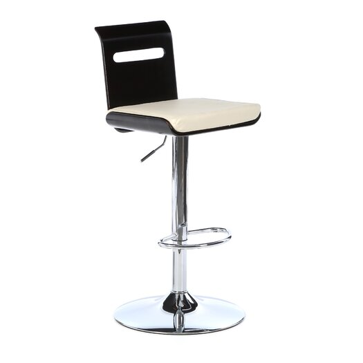 LumiSource Viera Adjustable Height Swivel Bar Stool