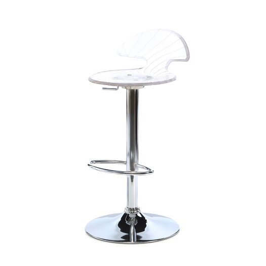 LumiSource Spyra Adjustable Height Bar Stool
