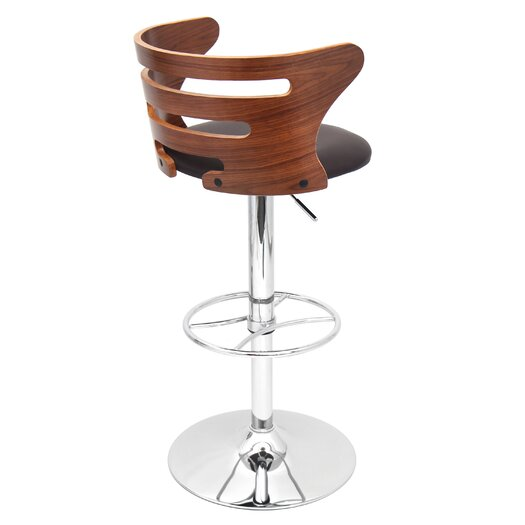 LumiSource Adjustable Barstool with Cushion