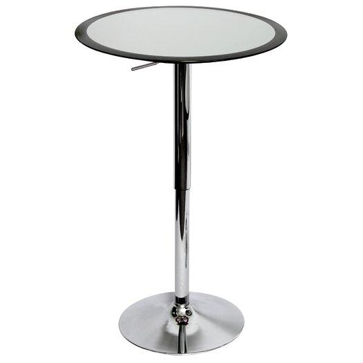 LumiSource Ribbon Adjustable Height Pub Table