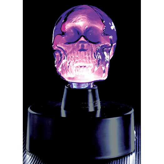 "LumiSource Mini Skull Electra 8"" H Table Lamp"