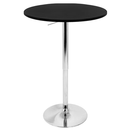 LumiSource Adjustable Height Pub Table II