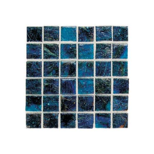 "Daltile Elemental Glass 3/4"" x 3/4"" Mosaic Tile in Cornflower"