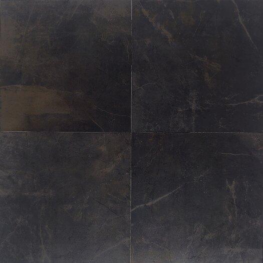 """Daltile Concrete Connection 13"""" x 13"""" Field Tile in Downtown Black"""