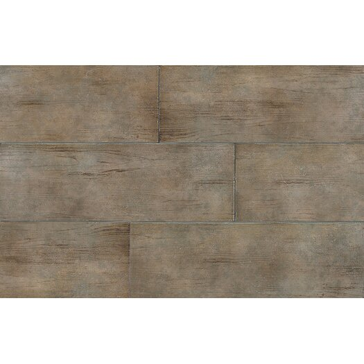 Daltile Timber Glen Porcelain Unpolished Field Tile in Heath