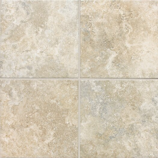 Daltile San Michele Porcelain Glazed Field Tile in Crema