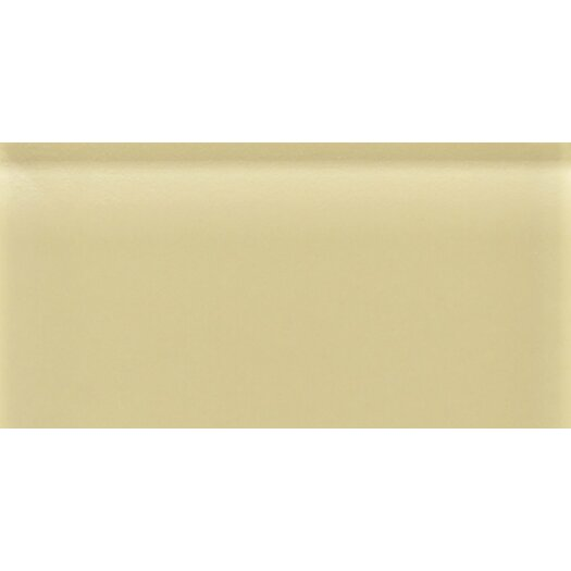 Daltile Reflections Glass Glossy Wall Tile in Cream Soda