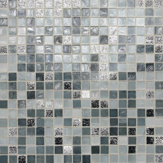 "Daltile City Lights 1/2"" x 1/2"" Glass Frosted Mosaic in London"
