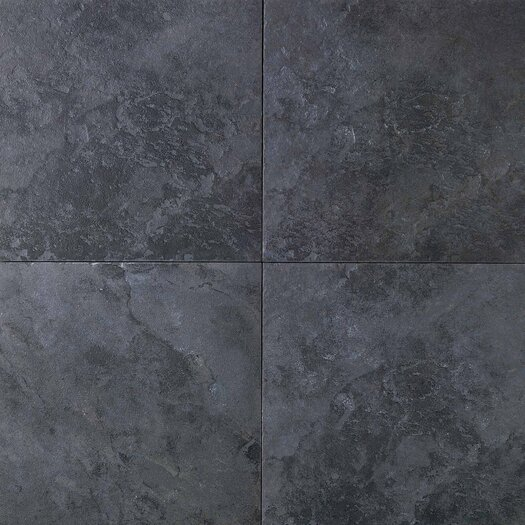 "Daltile Continental Slate 12"" x 12"" Field Tile in Asian Black"