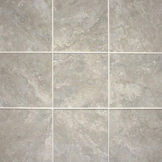 """Daltile Del Monoco 13"""" x 13"""" Glazed Field Tile in Leona Grigio"""