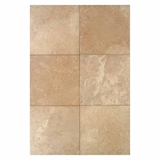 "Daltile Pietre Vecchie 20"" x 20"" Field Tile in Golden Sienna"