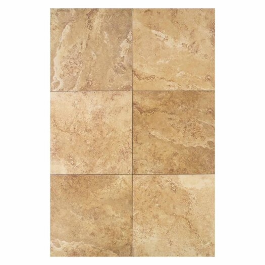 "Daltile Pietre Vecchie 20"" x 20"" Field Tile in Warm Walnut"