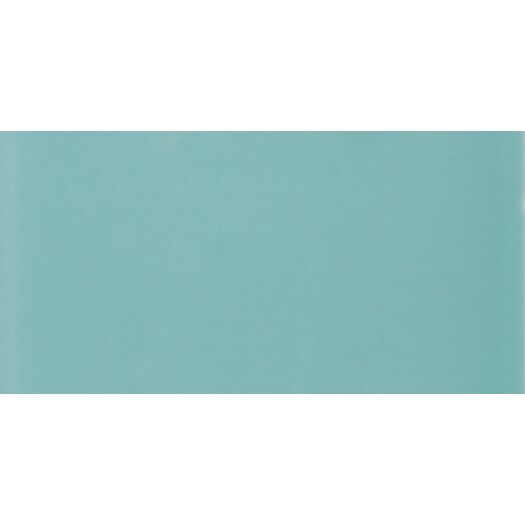 Daltile Rittenhouse Square Ceramic Glazed Field Tile in Aqua Glow