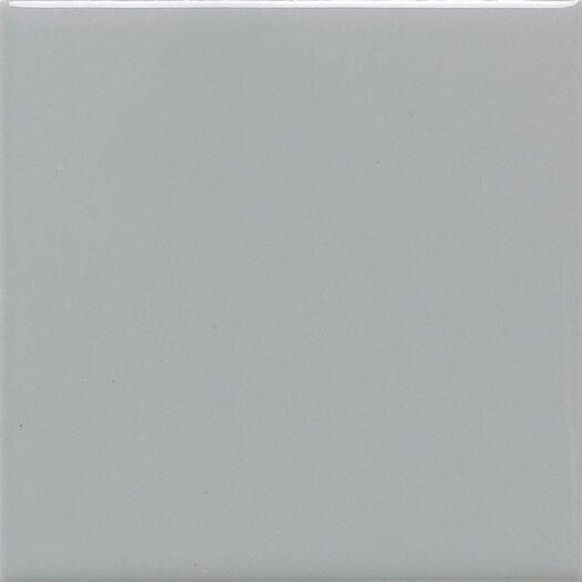 "Daltile Permatones 2"" x 2"" Porcelain Glazed Mosaic Field Tile in Matte Desert Gray"