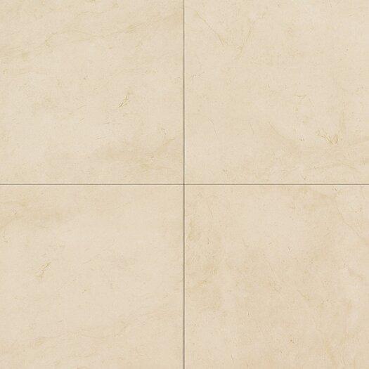 """Daltile Monticito 12"""" x 12"""" Plain Field Tile in Crema"""