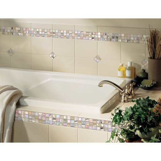 "Daltile Polaris 6"" x 8"" Glazed Field Tile in Gloss Almond"