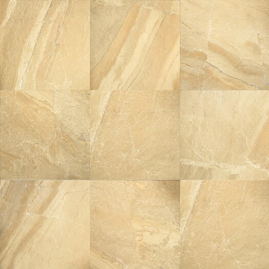 "Daltile Ayers Rock 20"" x 13"" Unpolished Field Tile in Golden Ground"